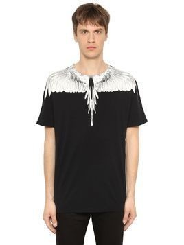 TWO TONE DOUBLE WING JERSEY T-SHIRT