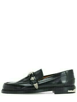 Polido Leather Buckle Loafers