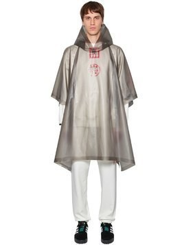 OVERSIZED AW WAREHOUSE RUBBER PONCHO