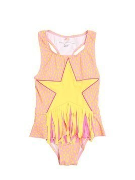 STAR PATCH LYCRA ONE PIECE SWIMSUIT
