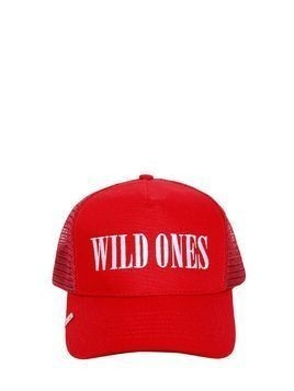 WILD ONES EMBROIDERED TRUCKER HAT