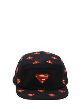 SUPERMAN EMBROIDERED BASEBALL HAT