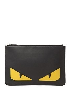MONSTER SMOOTH LEATHER POUCH