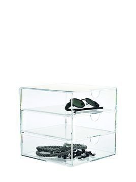 CLEAR 3-DRAWER ORGANIZER