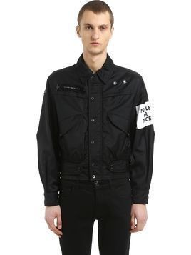 CAPTAIN NYLON JACKET W/ PATCH