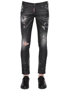 16.5CM CLEMENT DESTROYED DENIM JEANS