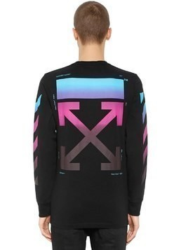 GRADIENT ARROWS JERSEY T-SHIRT