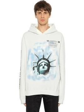OVER STATUE OF LIBERTY SWEATSHIRT HOODIE