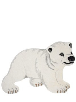 POLAR BEAR WOOL & COTTON RUG
