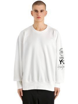 OVERSIZE GRAPHIC FRENCH TERRY SWEATSHIRT