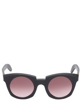 ROUND MATTE ACETATE SUNGLASSES