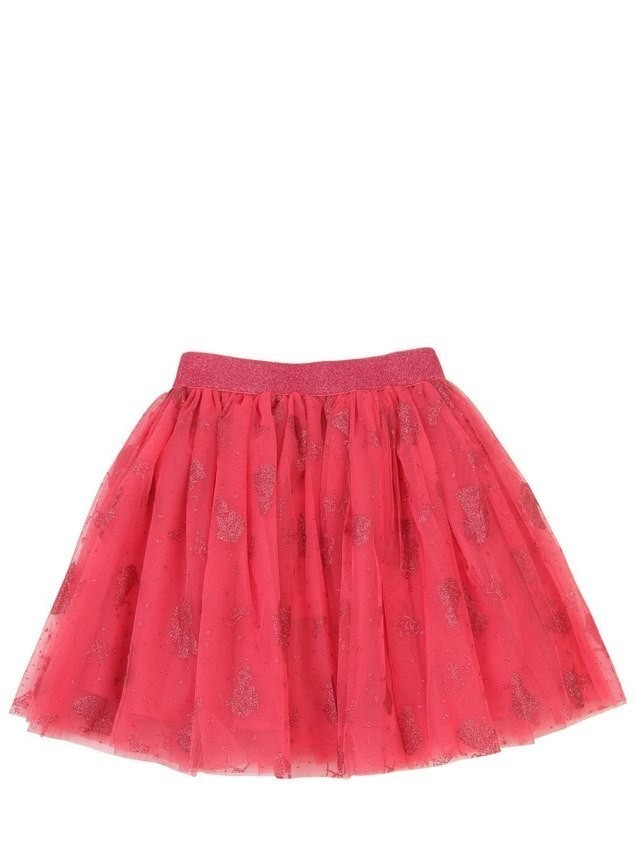 SLEEPING BEAUTY PRINTED TULLE SKIRT