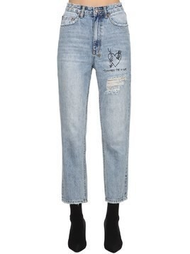 CHLO WASTED HEARTBURN DENIM JEANS