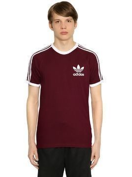 CLFN TWO TONE COTTON JERSEY T-SHIRT