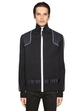 ZIP UP JERSEY TRACKSUIT JACKET