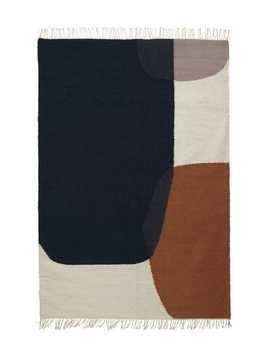 MERGE LARGE KELIM WOOL BLEND RUG