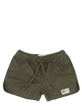 LIGHT COTTON GABARDINE SHORTS