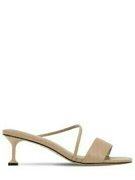 35mm Leather Mule Sandals
