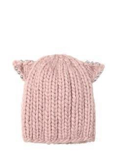 FELIX EMBELLISHED WOOL HAT