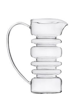 RINGS GLASS PITCHER