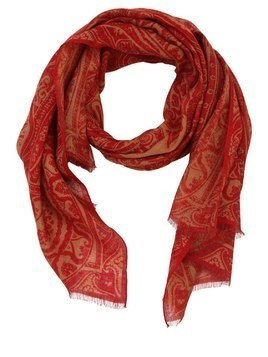 LINEN PAISLEY SCARF