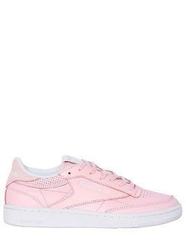 CLUB C 85 FBT LEATHER SNEAKERS