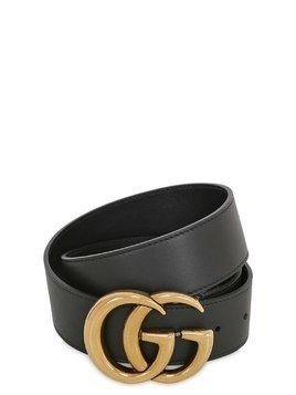 40MM GG LEATHER BELT