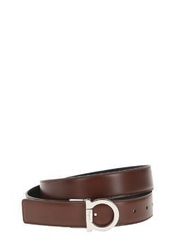 30MM REVERSIBLE LEATHER BELT