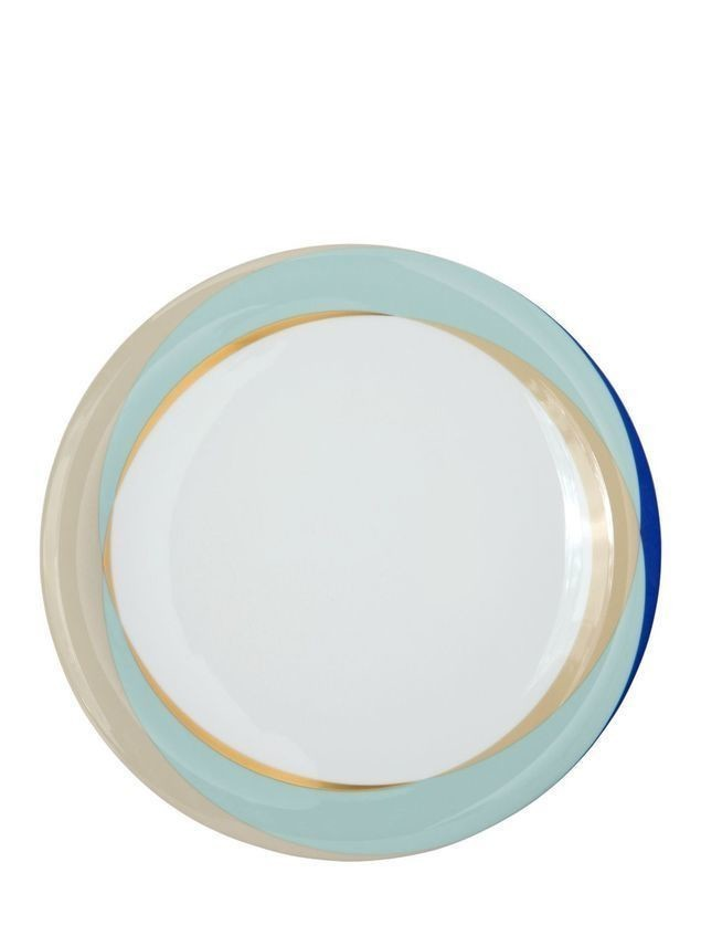 FLUEN SHIFTING COLORS CHARGER PLATE
