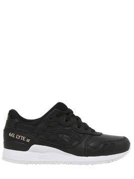 GEL LYTE III WRINKLED LEATHER SNEAKERS