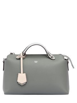 SMALL BY THE WAY COLOR BLOCK LEATHER BAG
