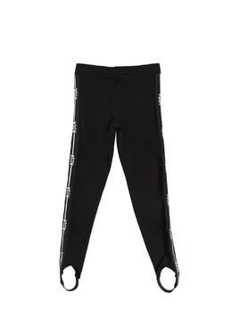 LOGO BANDS MILANO JERSEY LEGGINGS