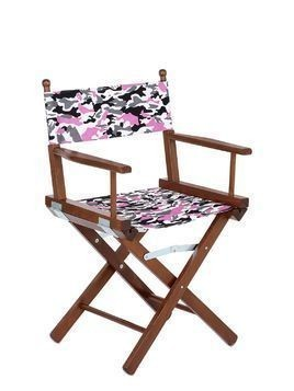CAMOUFLAGE DIRECTOR'S CHAIR