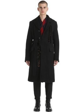HEAVY DOUBLE WOOL&MOHAIR COAT