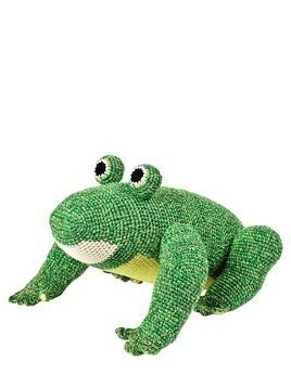HAND-CROCHETED ORGANIC COTTON FROG