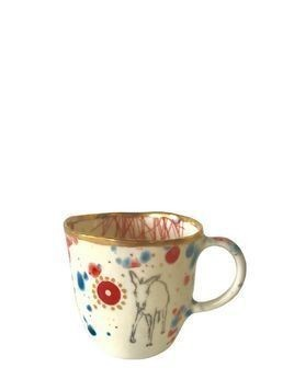 LA BOTTEGA KABUM PORCELAIN MUG