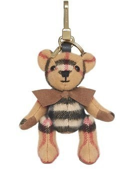 ICON CHECKED THOMAS TEDDY BEAR KEY CHAIN