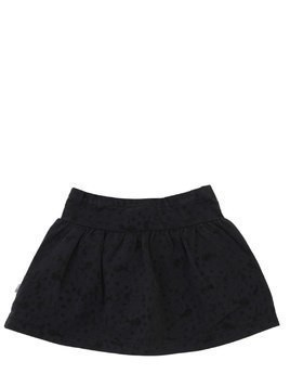 MINNIE FLOCKED COTTON JERSEY SKIRT