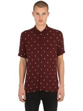 KUTA PRINTED POLKA DOT SHIRT