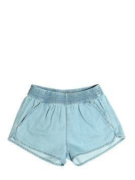 LIGHT COTTON DENIM SHORTS