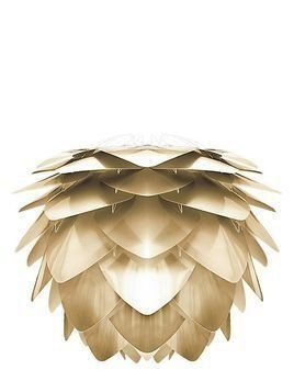 MEDIUM SILVIA BRUSHED BRASS LAMPSHADE