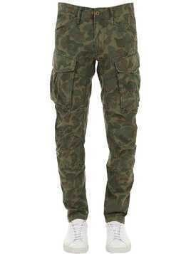 ROVIC 3D COTTON CANVAS CARGO PANTS