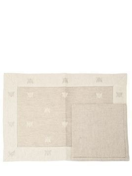 BEES SET OF 2 PLACEMATS & NAPKINS
