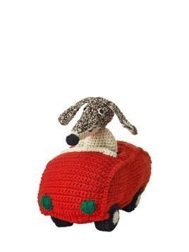 HAND-CROCHETED COTTON DRIVING DOG