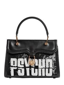 PSYCHO MINI MARGUERITE LEATHER BAG