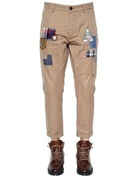 17CM HOCKNEY PATCHES TWILL CHINO PANTS