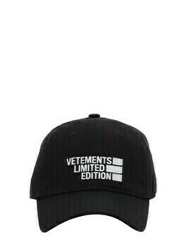 Limited Edition Logo Cotton Twill Cap