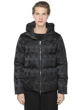 STAR JACQUARD DOWN JACKET