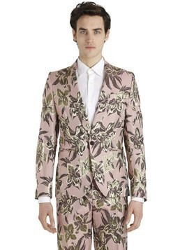 LUREX FLORAL JACQUARD JACKET FOR LVR