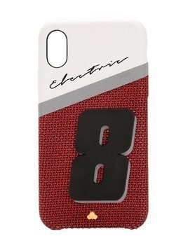 ELECTRIC 8 LEATHER IPHONE X COVER